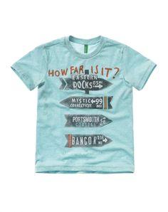 T-shirt vintage - T-SHIRTS E TOPS - MENINO - CRIANÇA