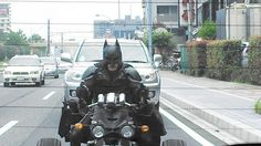 Batman in Japan chiba. Twitter