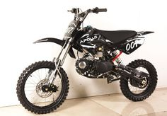 "APOLLO 125cc Deluxe 4-SPEED PIT/DIRT BIKE / Oversize 17"" Tire.  !"