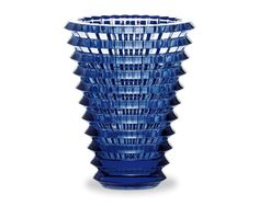 Baccarat - Vaso Eye Midnight | Materiali: Cristallo soffiato | #design #blue @Baccarat Official Official |