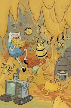 Adventure Time #62 (Cover A Shelli Paroline & Braden Lamb)
