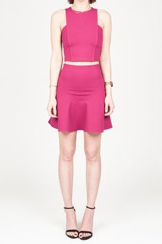 Pin this Donna Mizani top to see it land in #CovetFashion 8/14!