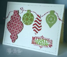 Ornament Fun by nyingrid - Cards and Paper Crafts at Splitcoaststampers