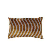 striped silk velvet cushions - Google Search Cushions Online, Colourful Cushions, Tiger Stripes, Velvet Cushions, Cushion Covers, Furniture Design, Modern Furniture, Contemporary Design, Hand Weaving