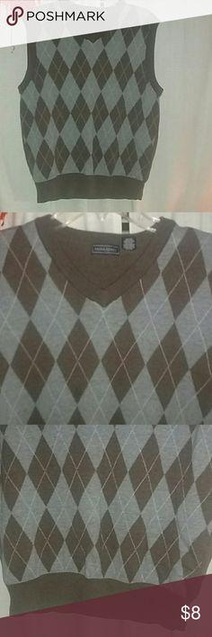 Saddlebred Sweater Vest 100% cotton Saddlebred  Sweaters