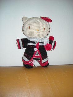 Hello Kitty in Japanse kleding