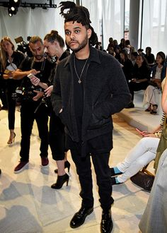 Makeup NEW YORK, NY - SEPTEMBER Musician The Weeknd attends Diane Von Furstenberg Spring 2016 fashion show during New York Fashion Week at Spring Studios on September 2015 in New York City. (Photo by Dimitrios Kambouris/Getty Images) Abel The Weeknd, Beauty Behind The Madness, Most Stylish Men, Best Dressed Man, Monster Party, New Haircuts, Men Street, City Style, Amor