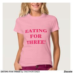 EATING FOR THREE!