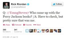 LOL WE LOVE YOU UNCLE RICK EXCEPT FOR THE WHOLE THROWING OUR OTP INTO TARTARUS, WE LOVE YOU!!!!!