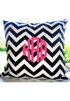 Kappa Alpha Theta Custom Decorative Throw Pillow | Teen Girl Dorm Room Bedding