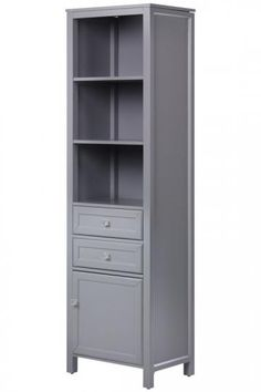 Hayley Linen Storage Cabinet (but painted white) $369