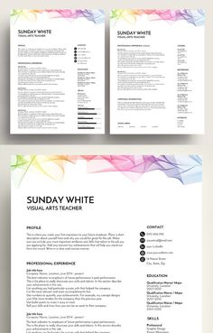 The Best Resume Templates High Quality Professional That May Help You To Get Your Dream Job Or Simply Update Cv As Per New Business
