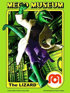 Mego Museum - The Lizard