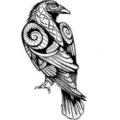 Mens vikings shirts - Until Valhalla Mens vikings shirts – Until Valhalla The beautiful representation of a raven and please read more Edgar Allan Poe …. Norse Tattoo, 1 Tattoo, Tatoo Art, Celtic Tattoos, Body Art Tattoos, Sleeve Tattoos, Samoan Tattoo, Celtic Raven Tattoo, Loki Tattoo