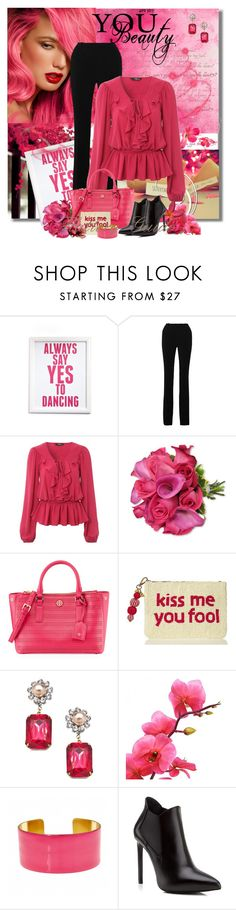 """Ladawna"" by flattery-guide ❤ liked on Polyvore featuring Canton Box Co., Roland Mouret, Jane Norman, Tory Burch, Kate Spade, John Wind, Fornash and Yves Saint Laurent"