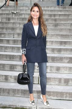 Pin for Later: Miroslava Duma Is the Fashion Force You'll Never Stop Following  She's got them in multiple colors.