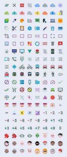 Foto: Paquete de iconos gratis inspirados en Google Material Design recursos iconos