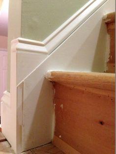 Installing Baseboard On Stair Stringer Michael Auldridge
