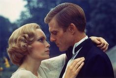 Mia Farrow and Robert Redford in The Great Gatsby (1974)