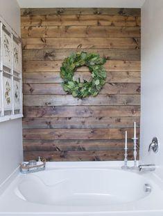 Cool 60 Beautiful Farmhouse Bathroom Ideas https://decoremodel.com/60-beautiful-farmhouse-bathroom-design-decor-ideas/