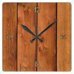 Photo Realistic Rustic, Treated Wood Board Clock  #Board #Clock #Photo #Realistic #Rustic #RusticClock #Treated #Wood The Rustic Clock
