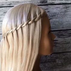 By: # Braids videos frisuren Cool hair tutorial! Easy Hairstyles For Long Hair, Braids For Long Hair, Braided Hairstyles, Witchy Hairstyles, Cool Hairstyles For School, Hair Up Styles, Medium Hair Styles, Hair Styler, Hair Videos