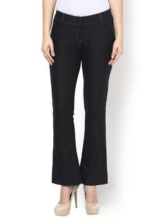 Buy KAARYAH Black Formal Skinny Fit Trousers - 367 - Apparel for Women from KAARYAH at Rs. 2560