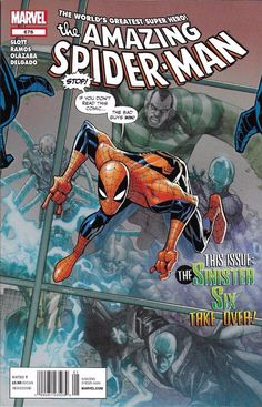 Marvel The Amazing Spider-Man comic issue 676