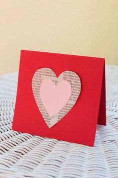 Tarjetas DIY para San Valentín | Aprender manualidades es facilisimo.com