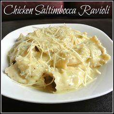 Gourmet Cooking For Two: Chicken Saltimbocca Ravioli