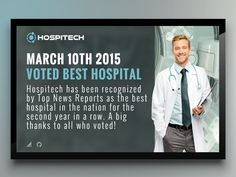 Hospital for Digital Signage