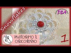 Tatting Jewelry, Needle Tatting, Tatting Patterns, Split Ring, Gothic Fashion, Crochet, Snowflakes, Christmas Bulbs, Delicate