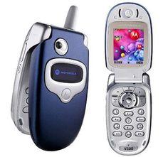 Motorola V300 - (T-mobile) August 2002-June 2005