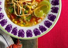 Mexican Rice Soup | Vegetarian Recipe | Vegetarian Times