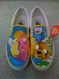 Custom Painted Vans by LittleMissApril on Etsy, $120.00
