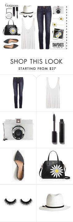 """Snapshots Of Everyday Life"" by idocoffee ❤ liked on Polyvore featuring Tory Burch, The Row, Lomography, Chanel, J.Crew, Kate Spade, Calypso Private Label and Tiffany & Co."