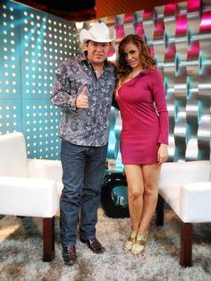Joselyn Juncal en Secreto a Voces de Bandamax con Homero Palomo de Grupo Palomo