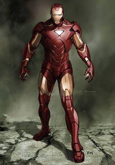 Ryan Meinerding - Marvel Iron Man