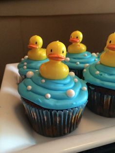 baby shower ides rubber ducky d. Ideas baby shower ides rubber ducky d. -Ideas baby shower ides rubber ducky d. Ideas baby shower ides rubber ducky d. Duck Cupcakes, Baby Shower Cupcakes For Boy, Idee Baby Shower, Baby Shower Sweets, Baby Shower Duck, Rubber Ducky Baby Shower, Cupcakes For Boys, Shower Bebe, Baby Shower Cakes