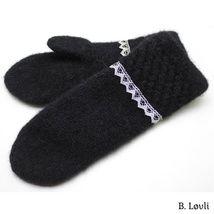 spildra sort m Mitten Gloves, Mittens, Needlework, Elegant, Knitting, Blog, Fingerless Mitts, Classy, Dressmaking