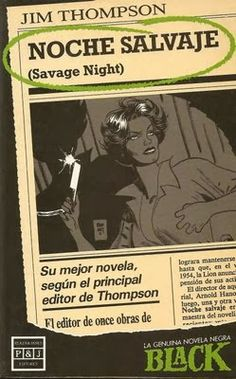Las Lecturas de Mr. Davidmore: Noche salvaje, de Jim Thompson