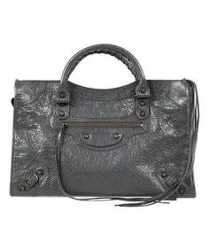 16d95a94e2e0f6 Look what I found on #zulily! Fossil Gray & Rustic Brass Medium Classic