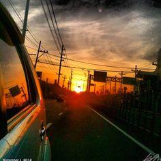 #allsaintsday#朝焼け#イマソラ#朝日#空#雲#ドライブ#フィリピン#daybreak#morningsun#risingsun#sun#sky#clouds#philippines#dawn#sunrise#drive