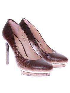 / Masimo Zardi pantofi pentru dame cafeniu Pumps, Heels, Fashion, Heel, Moda, Fashion Styles, Pumps Heels, Pump Shoes, High Heel