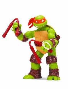 TMNT – 5504 – Figurine – Michelangelo Art avec Accessoires – 12 cm | Your #1 Source for Toys and Games