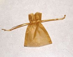 30 Organza Drawstring Gift Bags Gold by NaturalGemDesigns on Etsy holiday sacks, jewelry pouch, anniversary party favors Iron Anniversary Gifts, Anniversary Party Favors, 50th Wedding Anniversary, Anniversary Ideas, Wedding Gifts, Gold Wedding, Wedding Favors, Wedding Jewelry, Wedding Ideas
