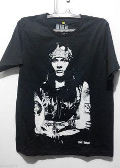 $7,- Axl Rose Sweet Child o mine T-Shirt (Cheap) Size XL Asian #Crophead #BasicTee