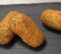 Croquetas de espinacas y queso                                                                                                                                                     Más