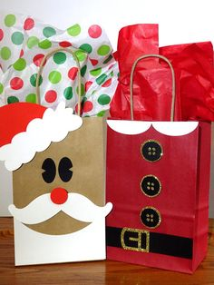 Set of 12 Santa Bag Christmas Paper Bags Christmas Gift Wrapping Santa Christmas Gift Bags Christmas Teacher Gift Christmas Party Favor Bags, Christmas Party Favors, Teacher Christmas Gifts, Christmas Bags, Christmas Gift Wrapping, Christmas Paper, Santa Christmas, Etsy Christmas, Hygge Christmas, Decorated Gift Bags