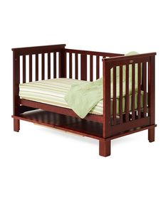 Cherry Langston Convertible Crib